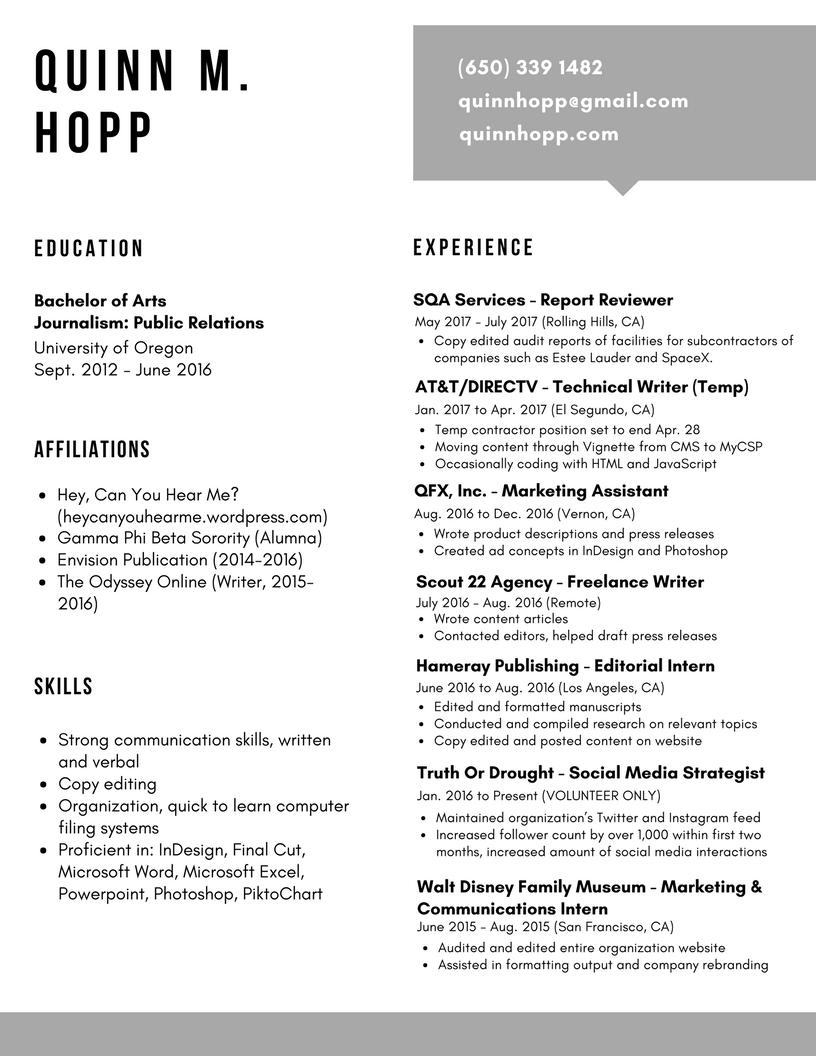 Resume 6_Aug 2017