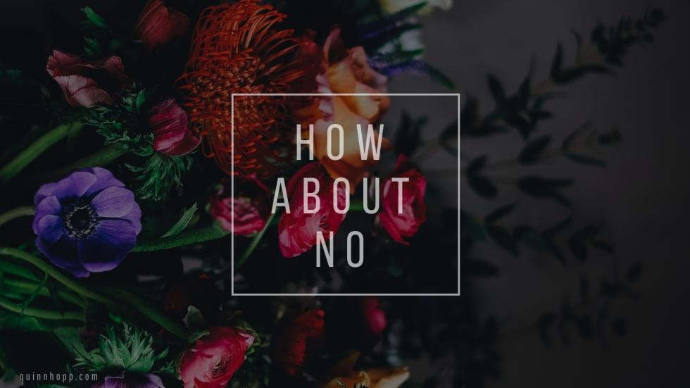 dark bouquet_how about no