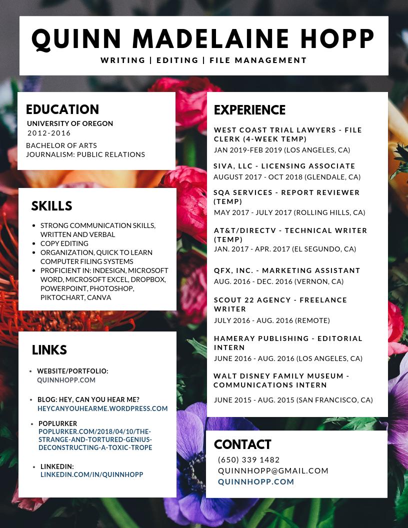 resume 15_2019